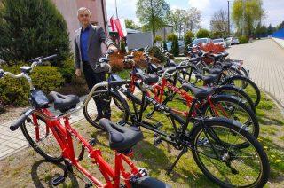 Pierwsza w powiecie bezpłatna wypożyczalnia rowerów jest w gminie Stupsk