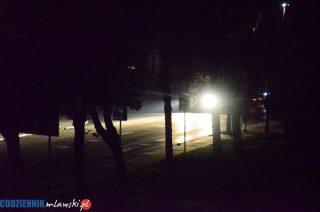 Ja zadecydowałem, że będziemy oszczędzać na oświetleniu ulicznym