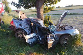 Śmiertelny wypadek na trasie Przasnysz – Chorzele