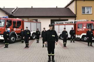 Druhowie z OSP Szydłowo w akcji #GaszynChallenge