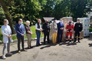 Środki ochrony i dezynfekcji trafiły do DPS w Bogurzynie