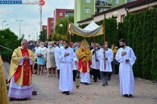 Procesja Bożego Ciała w parafii MB Królowej Polski [fotorelacja]