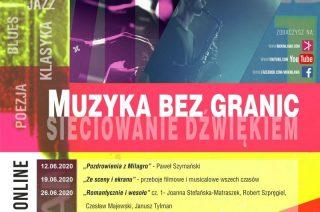 """Od 12 czerwca rusza cykl koncertów online w ramach programu """"Kultura w sieci"""""""