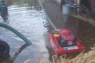 Gmina Szreńsk. Wczorajsza ulewa spowodowała zalania