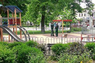 Place zabaw w parku już dostępne