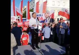 Prezydent Andrzej Duda w Mławie [Live]