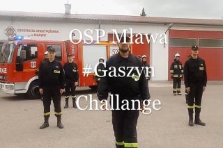 """#GaszynChallenge. Druhowie z OSP Mława """"pompują"""" dla chorej Zosi"""