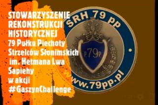 Rekonstruktorzy SRH 79 pp znów w akcji. Tym razem #GaszynChallenge