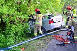 Ranne dzieci, kierowca w stanie ciężkim. Są ustalenia Policji w sprawie wypadku na Dworcowej