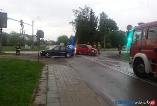 Kolejny wypadek. Zderzyły się trzy samochody – aktualizacja