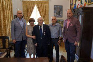 Kpt. Tadeusz Jasiński odznaczony medalem Zasłużony dla Miasta Mława