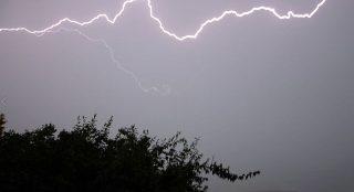 Uwaga ostrzeżenie przed burzą i wichrem