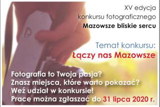"""""""Mazowsze bliskie sercu"""" – XV edycja konkursu dla pasjonatów fotografii"""