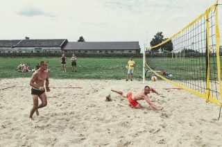 Plażowa siatkówka w gminie Stupsk. Na czele Karwaccy