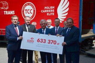 Pomoc dla mławskiego szpitala warta ponad 633 tys. zł na walkę z koronawirusem