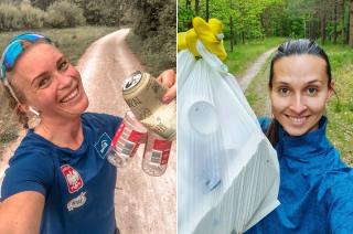Znani sportowcy zachęcają do biegu i sprzątania porzuconych śmieci