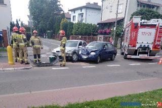 Kolejne zderzenie samochodów dziś w Mławie [aktualizacja]