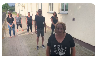 Zespół Ośrodków Wsparcia w Mławie dołącza do#GaszynChallenge