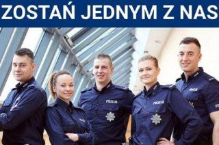 Policja szuka chętnych do służby