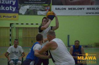 Czwarta kolejka Mławskiej Ligi Koszykówki. Wuja Squad bez porażki