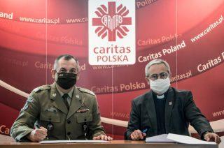 Terytorialsi współpracują z Caritas. Umowa podpisana