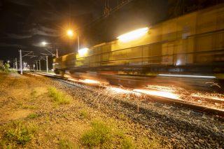 Specjalny pociąg szlifował szyny pomiędzy Działdowem a Olsztynem