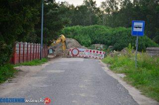 Ulica Cegielnia zamknięta, a mieszkańcy skarżą się, że nie mają funkcjonalnego objazdu