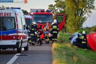 AKTUALIZACJA: Zderzenie samochodów w Kosinach Starych [zobacz fot.]