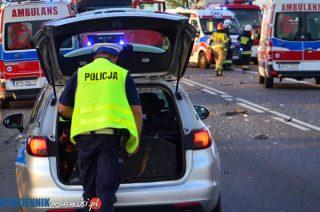 Działdowo. 18 lat, prawo jazdy od 3 miesięcy i pijana za kierownicą spowodowała wypadek