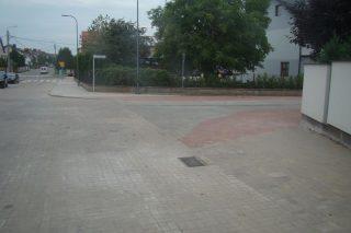 Ulica Lipowa już z nową nawierzchnią