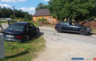 Zderzenie samochodów w Kulanach [aktualizacja]