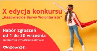 """Rusza konkurs """"Mazowieckie Barwy Wolontariatu"""". Zgłoś kandydata"""