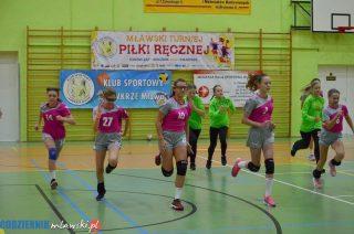 II Mławski Turniej Piłki Ręcznej Dziewcząt za nami [fot.]