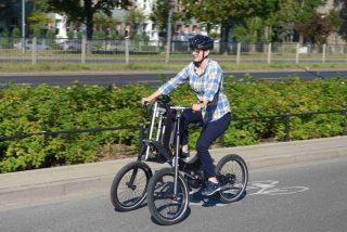 Nowy rower dla osób z niepełnosprawnością ruchową [zobacz film]