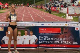Kaja Chmielewska z życiowym rekordem