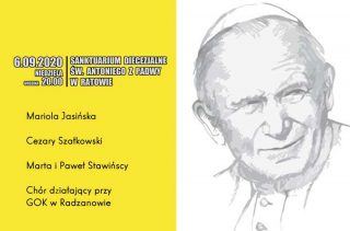 Koncert papieski w Sanktuarium w Ratowie