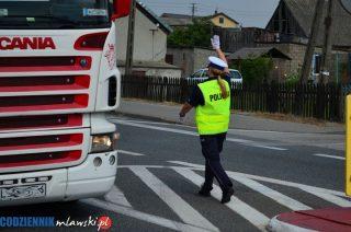 31-letnia mławianka za kierownicą ciężarówki. Wydmuchała ponad 0,5 promila