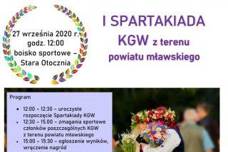 I Spartakiada KGW z powiatu mławskiego!