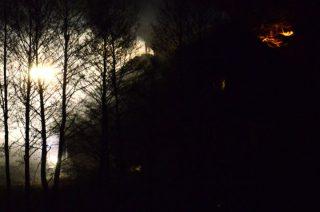Mieszkaniec Międzylesia zdążył opuścić płonący budynek