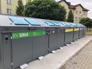 Inteligentne pojemniki na odpady na stałe w Ciechanowie