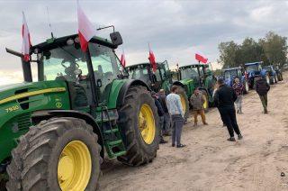 Protest rolników. Ze Strzegowa wyjedzie kolumna ciągników
