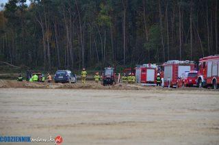 Czterech pracowników przysypanych na budowie S7. Uratowali ich koledzy [zobacz foto i film]