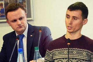 Pol kontra Przybyszewski. Zadawał pytania radnemu, musiał bronić się przed sądem