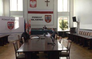XX sesja Rady Powiatu Mławskiego. Zapraszamy na transmisję!