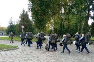 Wcielenie 29 ochotników do mazowieckich terytorialsów