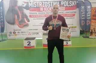 Brązowy medal Mistrzostw Polski w kickboxingu dla mławskiego zawodnika