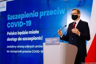 Premier zapowiada szczepionkę na COVID-19