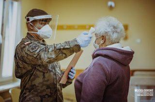 Terytorialsi wspomagają m.in. szpitale i mławski sanepid