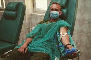 Żołnierze 5 MBOT oddali ponad 376 litrów krwi