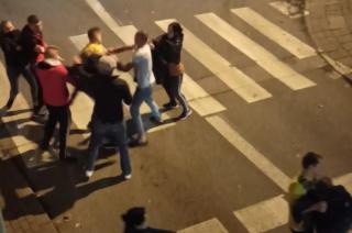 Bójka Ukraińców w samym centrum miasta [film]